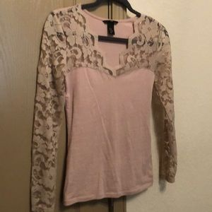 Sexy lace long sleeve H&M blouse